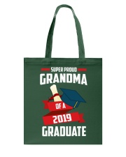 Proud Grandma Of A 2019 Graduate Tote Bag thumbnail
