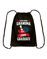 Proud Grandma Of A 2019 Graduate Drawstring Bag thumbnail