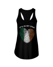 Irish blood It's in my DNA St Patrick's Day Ladies Flowy Tank thumbnail
