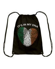 Irish blood It's in my DNA St Patrick's Day Drawstring Bag thumbnail