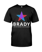 Brady united against gun violence Classic T-Shirt front