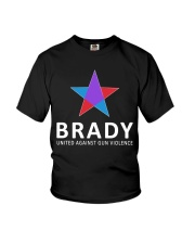 Brady united against gun violence Youth T-Shirt tile