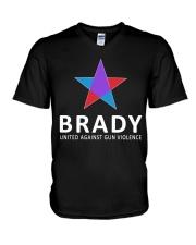 Brady united against gun violence V-Neck T-Shirt thumbnail