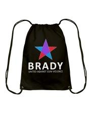 Brady united against gun violence Drawstring Bag thumbnail