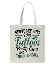 Kentucky Girl With Tattoos Pretty Eyes Tote Bag thumbnail