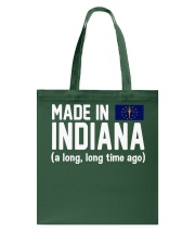Made in Indiana a long long time ago Tote Bag thumbnail