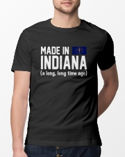 Made in Indiana a long long time ago Classic T-Shirt lifestyle-mens-crewneck-front-13