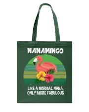 Nanamingo nana flamingo funny definition Tote Bag thumbnail