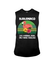 Nanamingo nana flamingo funny definition Sleeveless Tee thumbnail