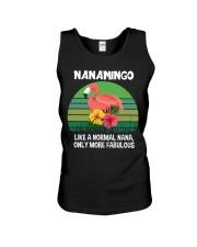 Nanamingo nana flamingo funny definition Unisex Tank thumbnail