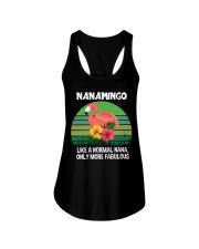 Nanamingo nana flamingo funny definition Ladies Flowy Tank thumbnail