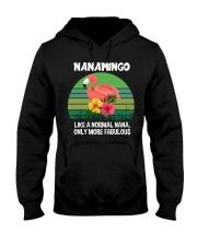 Nanamingo nana flamingo funny definition Hooded Sweatshirt thumbnail
