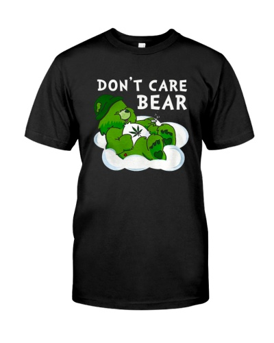 Weed don't care bear smoking weed funny