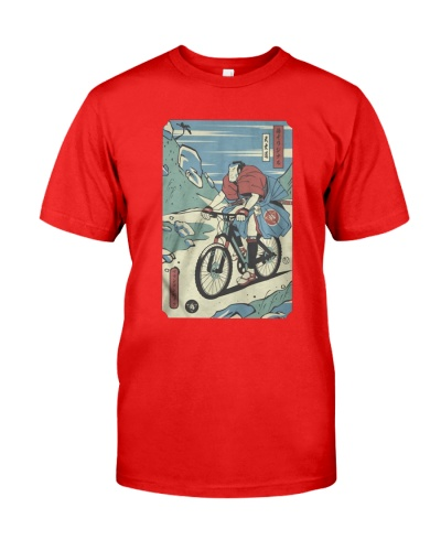 Official Mountain Bike biker Samurai biker bicycle