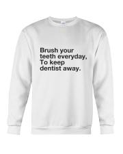 Brush your Teeth Everyday Crewneck Sweatshirt thumbnail