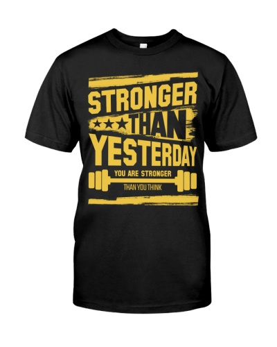 Fitness  Stronger than yesterday