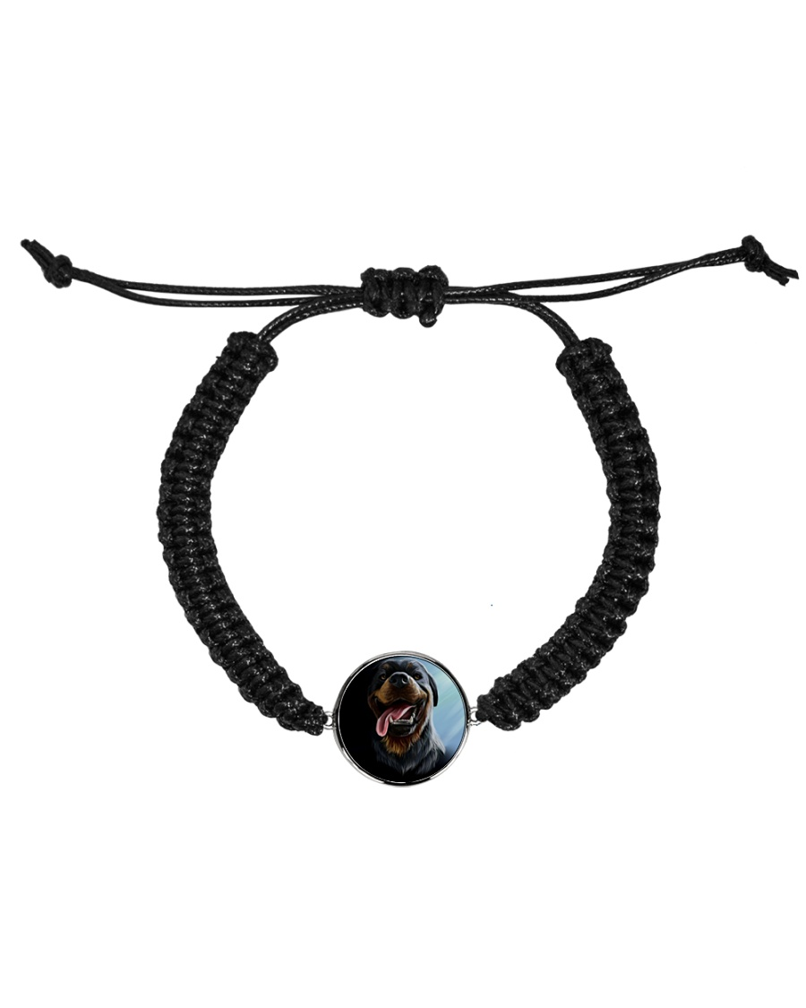 test Cord Circle Bracelet
