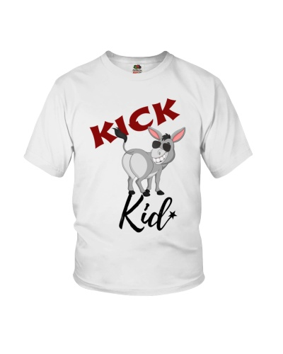 Kick Butt Kid - Black Lettering