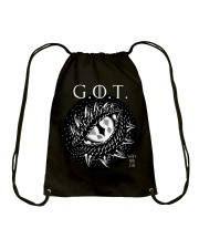Win or Die - Dragon's Eye  Drawstring Bag tile