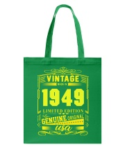 Vintage 1949 Tote Bag thumbnail