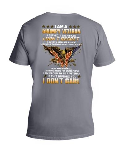 T-Shirt Grumpy Veteran