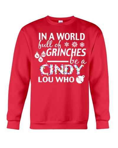In a world full of Grinches