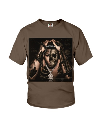 YoungBoy Never Broke Again Knocked Off T Shirt