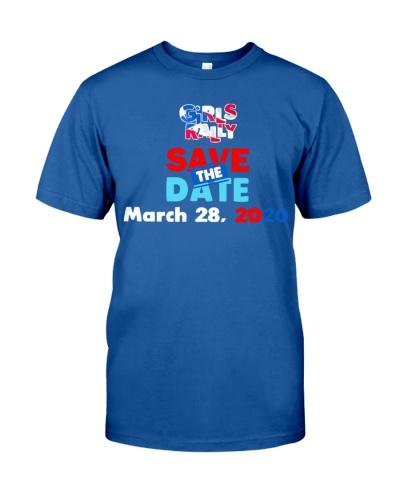 Puerto Rico Girls Rally T Shirt