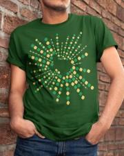 Texas Shamrock St Patrick's Day Shirt Classic T-Shirt apparel-classic-tshirt-lifestyle-26