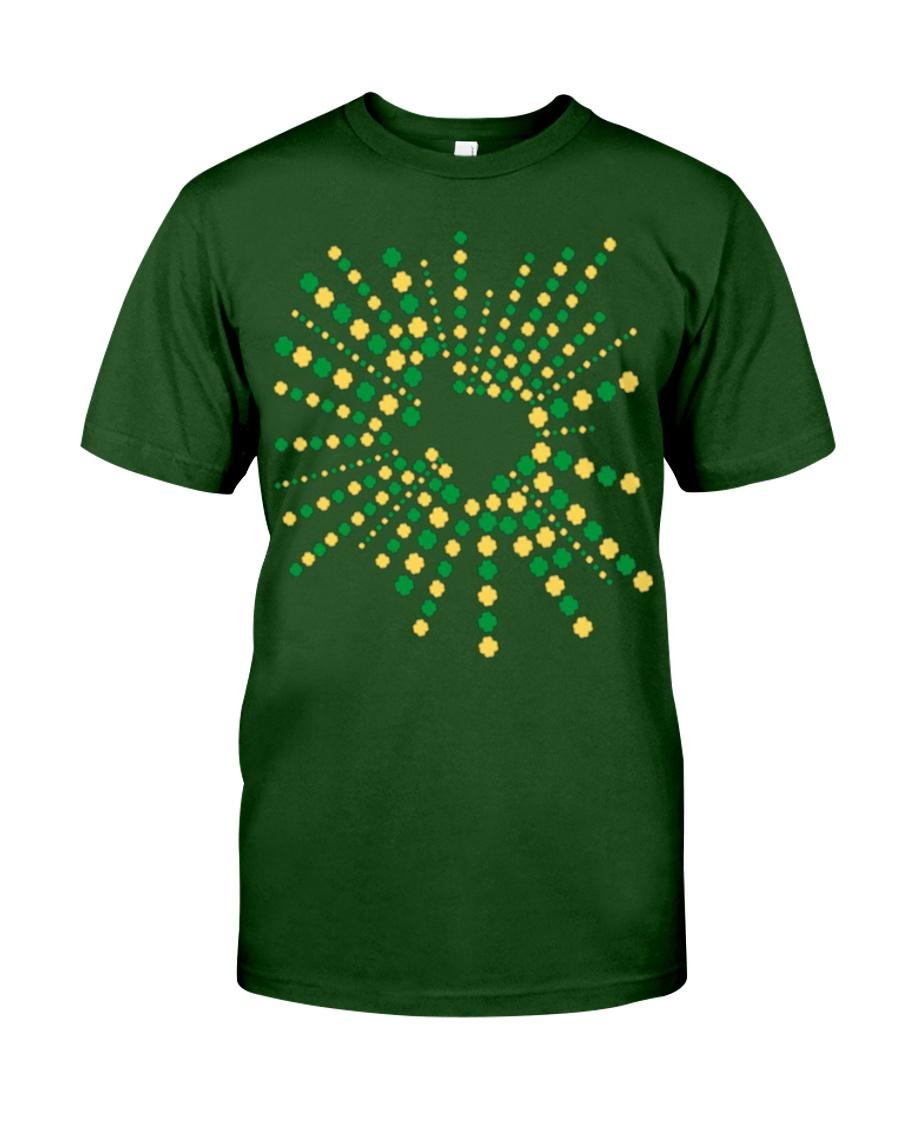 Texas Shamrock St Patrick's Day Shirt Classic T-Shirt