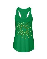 Texas Shamrock St Patrick's Day Shirt Ladies Flowy Tank thumbnail