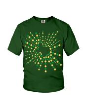 Texas Shamrock St Patrick's Day Shirt Youth T-Shirt thumbnail