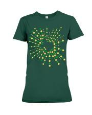 Texas Shamrock St Patrick's Day Shirt Premium Fit Ladies Tee thumbnail