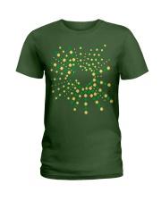 Texas Shamrock St Patrick's Day Shirt Ladies T-Shirt thumbnail