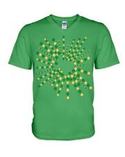 Texas Shamrock St Patrick's Day Shirt V-Neck T-Shirt thumbnail