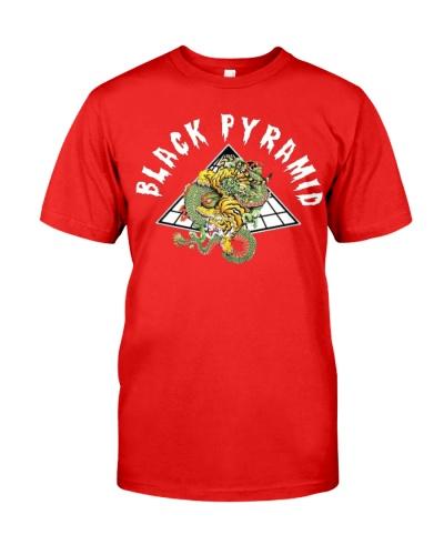 Black Pyramid Chris Brown Indigo T Shirt