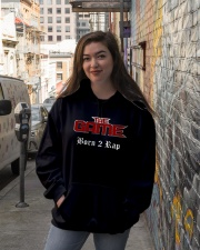 Born 2 Rap The Game T-Shirts Hooded Sweatshirt lifestyle-unisex-hoodie-front-1