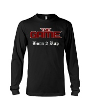 Born 2 Rap The Game T-Shirts Long Sleeve Tee thumbnail
