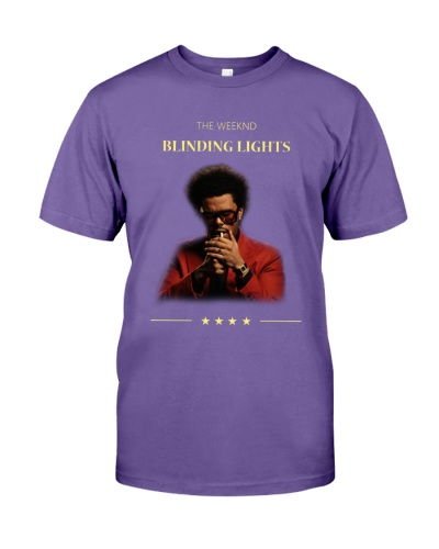 The Weeknd Blinding Lights T Shirts