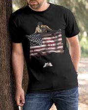 G Herbo PTSD T Shirt Classic T-Shirt apparel-classic-tshirt-lifestyle-front-51