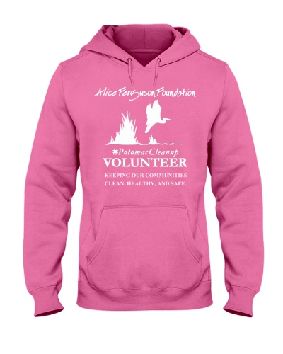 Potomac Cleanup Volunteer T Shirt