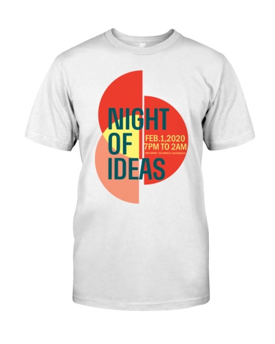 Night of Ideas San Francisco T-Shirts