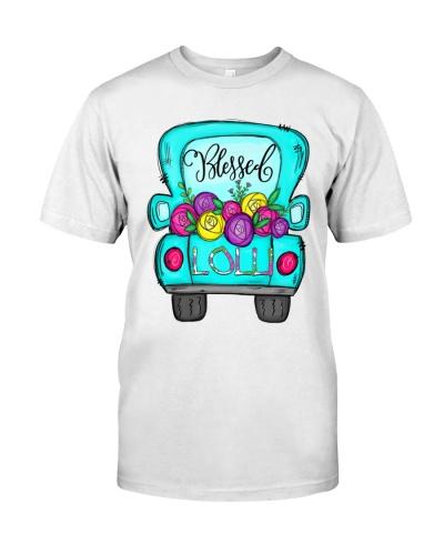 Lolli Truck  Flower Watrercolor