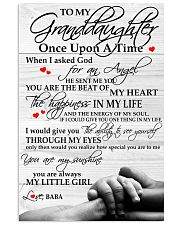 Baba - To My Granddaughter 11x17 Poster front