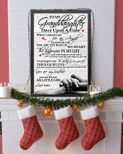 Baba - To My Granddaughter 11x17 Poster lifestyle-holiday-poster-4