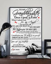 Baba - To My Granddaughter 11x17 Poster lifestyle-poster-2