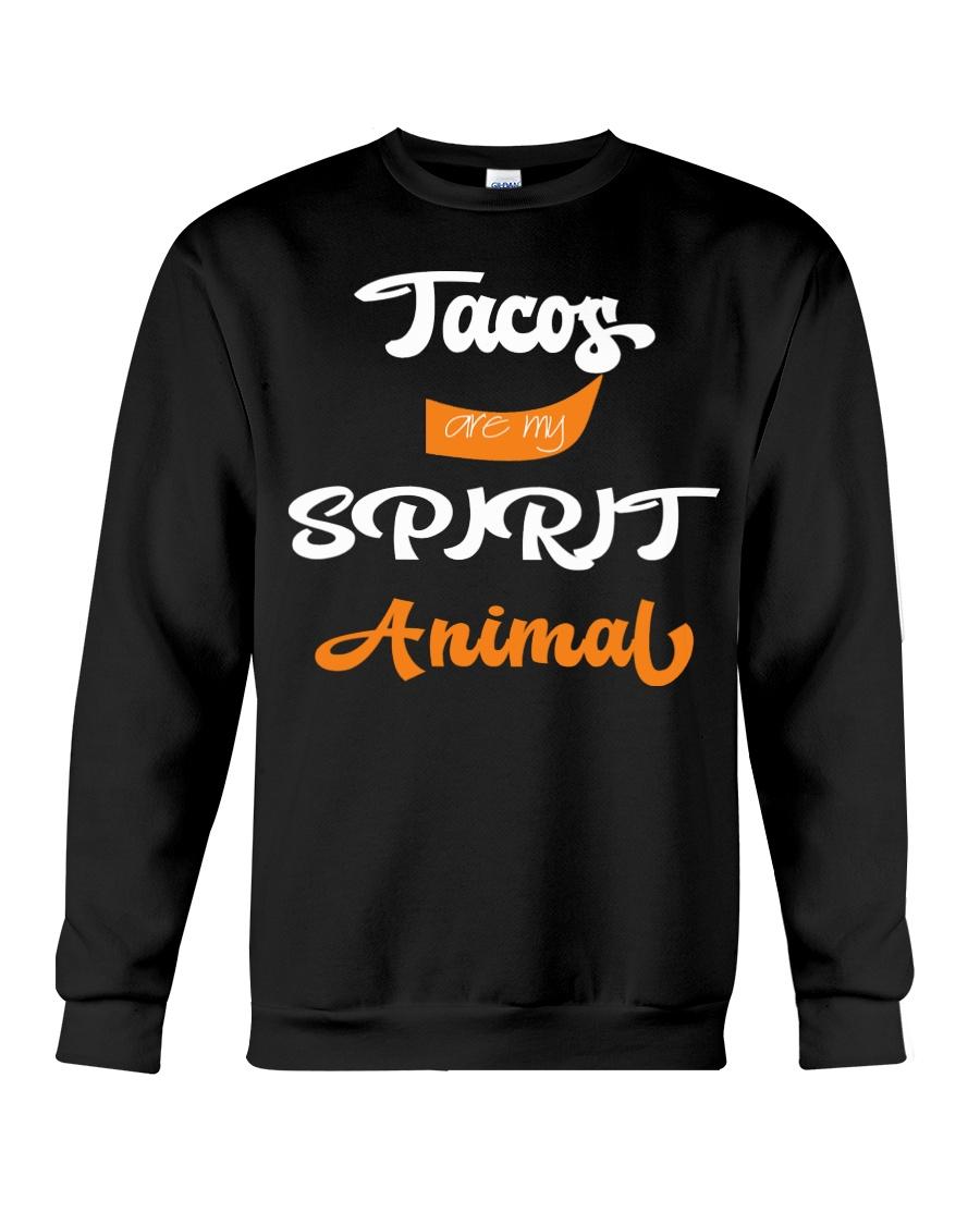 Tacos are My Spirit Animal Crewneck Sweatshirt