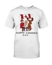 Happy Canada Day Classic T-Shirt thumbnail