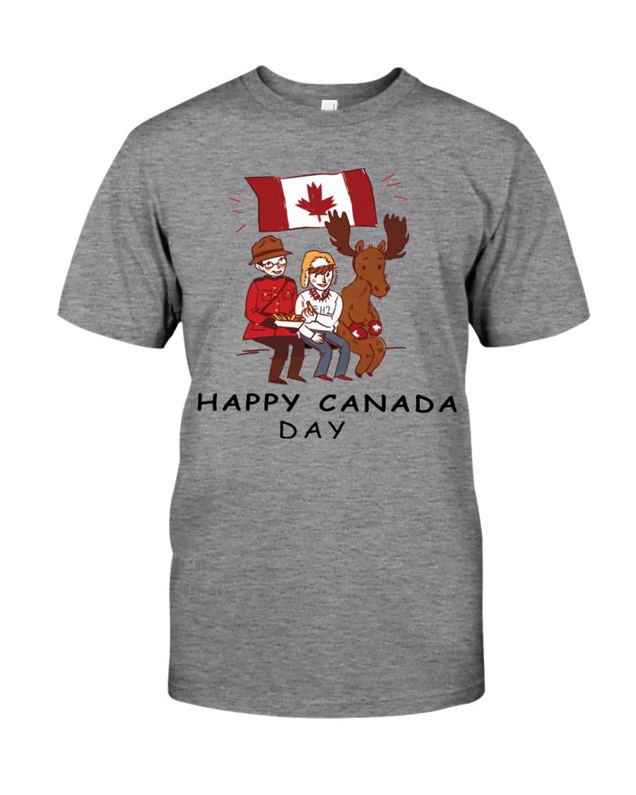 Happy Canada Day Premium Fit Mens Tee