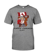 Happy Canada Day Premium Fit Mens Tee front
